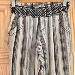 Rewash striped linen pants NWOT